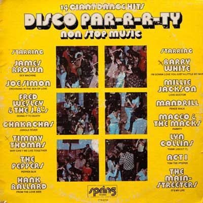 Spring Records - Disco Par-r-r-ty