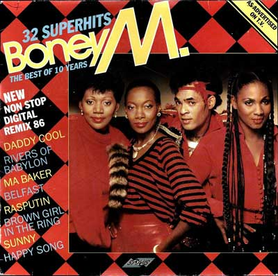 Boney M. - The Best of 10 Years - 32 Superhits