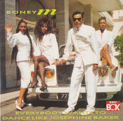 Boney M. - «Everybody Wants to Dance Like Josephine Baker / Custer Jammin'»