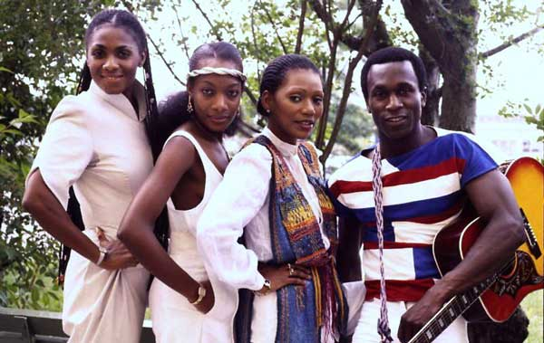 Boney M. with Reggie Tsiboe